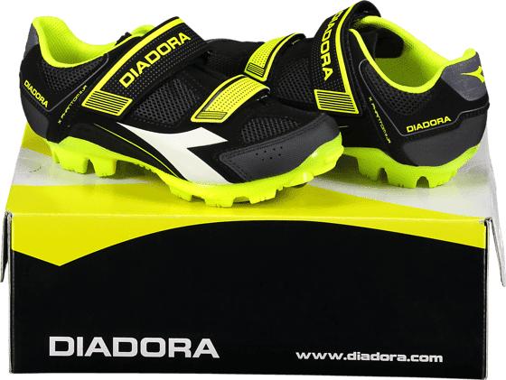 Diadora So X Phantom Jr Pyöräily BLACK/NEON YELLOW/  - BLACK/NEON YELLOW/ - Size: 34