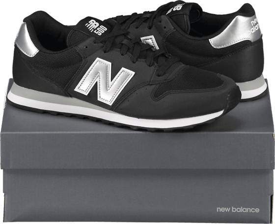New Balance So Gm 500 M Tennarit BLACK/SILVER  - BLACK/SILVER - Size: US 7