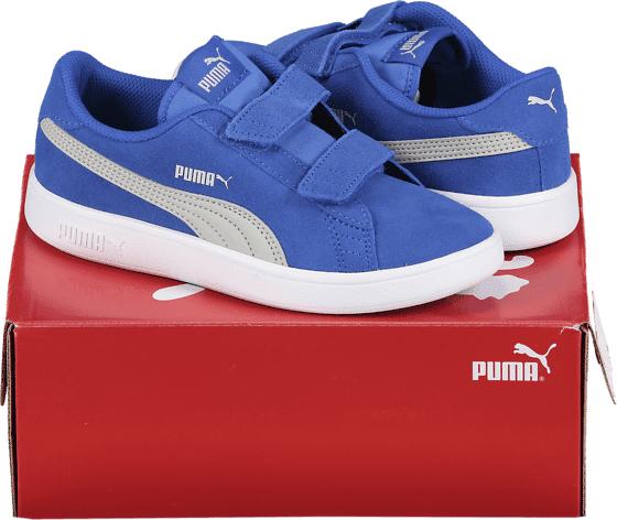 Puma So Smash V2 Sd Jr Tennarit BLUE (Sizes: UK 10C)