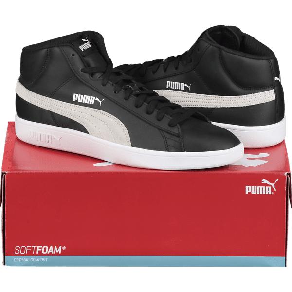 Puma So Smash V2 Md L M Tennarit BLACK/WHITE (Sizes: UK 10.5)