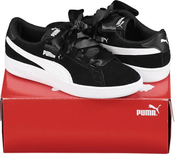 Puma So Smash V2 Rb Jr Tennarit BLACK/WHITE (Sizes: 3.5)