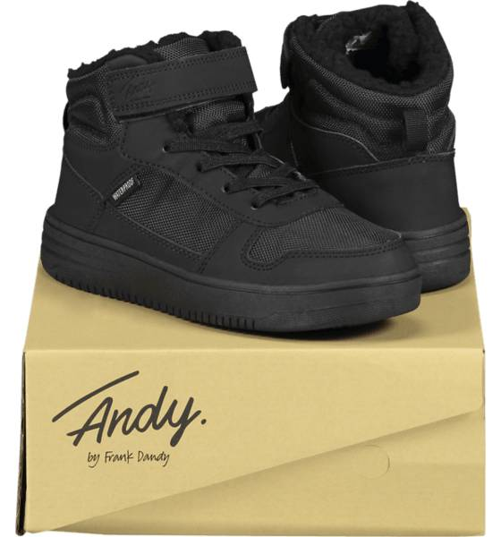 Image of Andy By Frank Dandy So Legend Wp Jr Varsikengät & saappaat BLACK/BLACK (Sizes: 28)