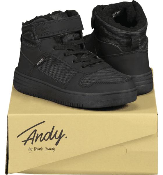 Image of Andy By Frank Dandy So Legend Wp Jr Varsikengät & saappaat BLACK/BLACK (Sizes: 28)