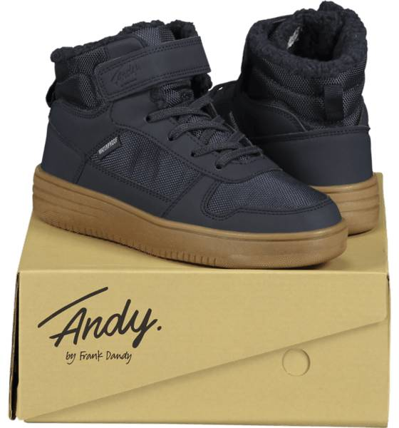 Image of Andy By Frank Dandy So Legend Wp Jr Varsikengät & saappaat NAVY/GUM (Sizes: 30)