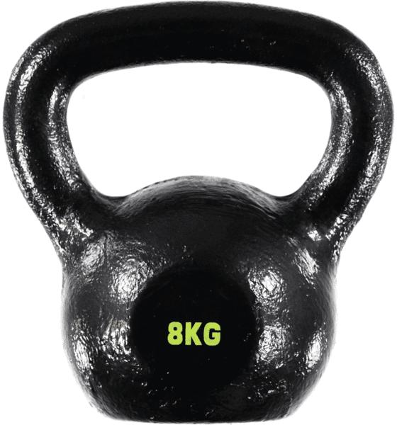 Benefit So Kettlebell 8kg Treeni BLACK (Sizes: No size)