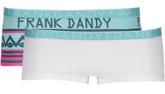 Frank Dandy So L 2-p Boxer W Alusvaatteet BIGBRO TRQ/WHT/TRQ (Sizes: XS)