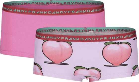 Frank Dandy So L 2-p Boxer W Alusvaatteet PINK/LIGHT PINK (Sizes: XS)