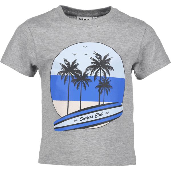 Tribute So Print Tee B Jr T-paidat & topit SURF GREY MELANGE (Sizes: 110)