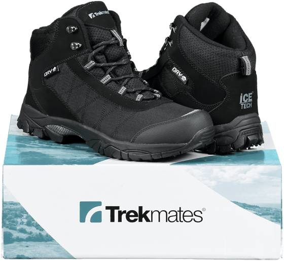 Trekmates So Arctic Grip M Varsikengät & saappaat BLACK/GREY (Sizes: 45)