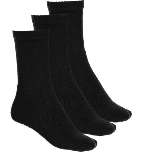 Image of Frank Dandy So 3p Sport Sock U Sukat BLACK (Sizes: 36-40)