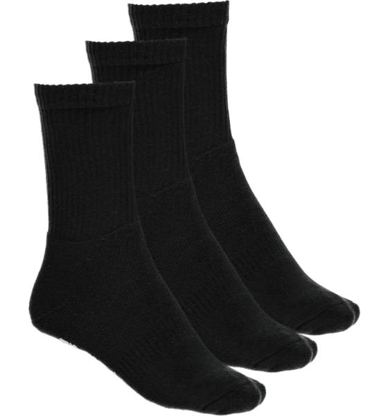 Frank Dandy So 3p Sport Sock U Sukat BLACK (Sizes: 39-42)