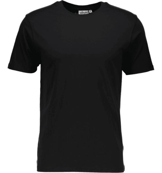 Image of Tribute So Basic Tee M T-paidat BLACK  - BLACK - Size: 2X-Large