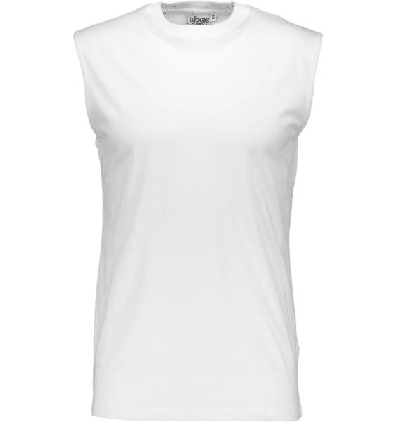 Image of Tribute So Basic Sleeveless Tee M T-paidat WHITE  - WHITE - Size: Extra Large