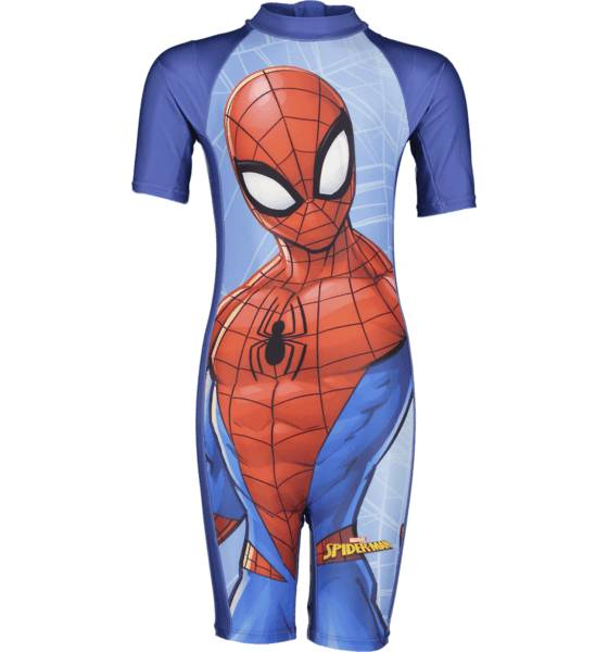 Image of Disney So Uv Suit Spiderman Treeni BLUE BLUE (Sizes: 86-92)