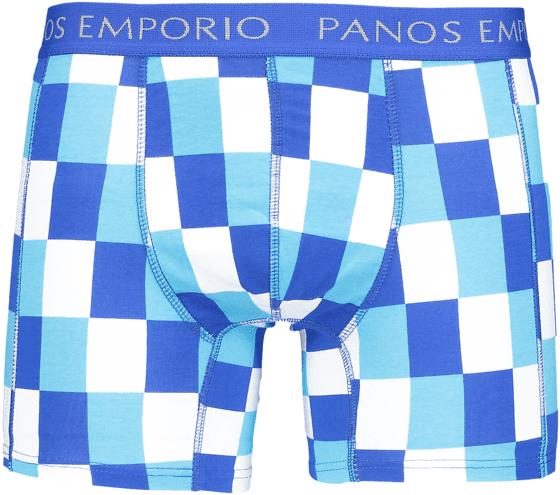 Panos Emporio So Eros 1 Pack M Alusvaatteet BLUE SQUARE (Sizes: XL)