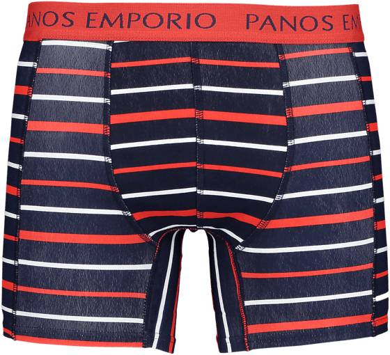 Panos Emporio So Eros 1 Pack M Alusvaatteet NAVY/RED STRIPE (Sizes: S)