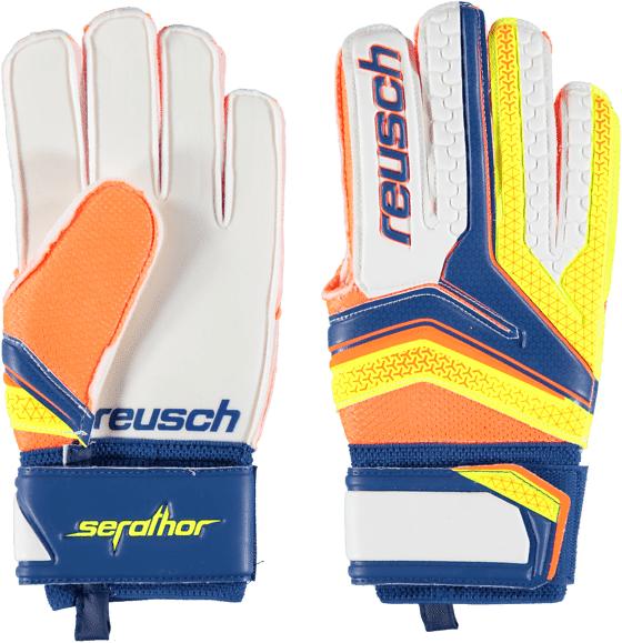 Reusch So Serathor Glv U Jalkapallo BLUE/YELLOW  - BLUE/YELLOW - Size: 8