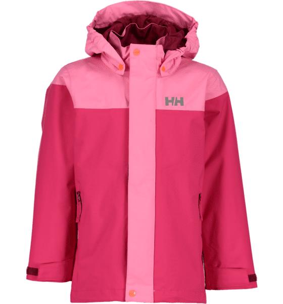 Helly Hansen So Shield Jkt Jr Sadevaatteet BRIGHT ROSE (Sizes: 104)