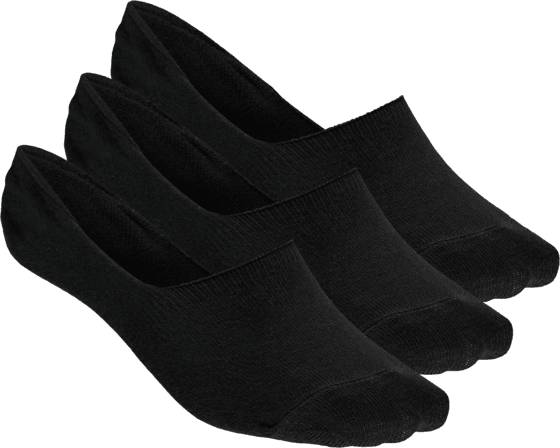 Frank Dandy So 3p Invisible Sock U Sukat BLACK (Sizes: 39-42)