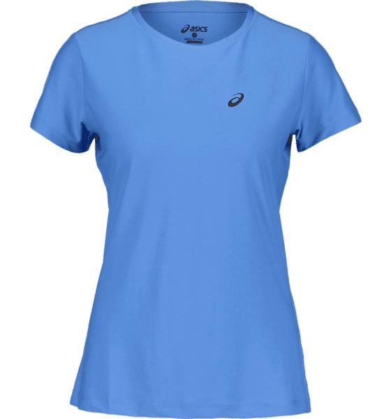 Image of Asics So Ss Top W Treeni REGATTA BLUE  - REGATTA BLUE - Size: Extra Small