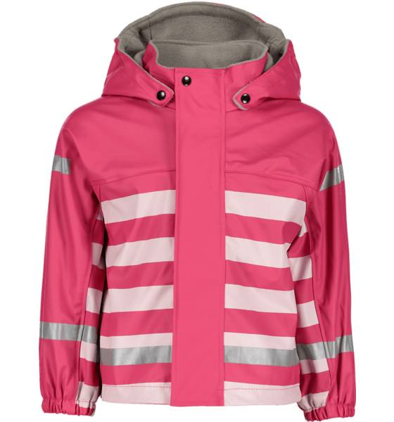 Image of Pax So Pu Lined Jkt Jr Sadevaatteet RASPBERRY STRIPED (Sizes: 74-80)