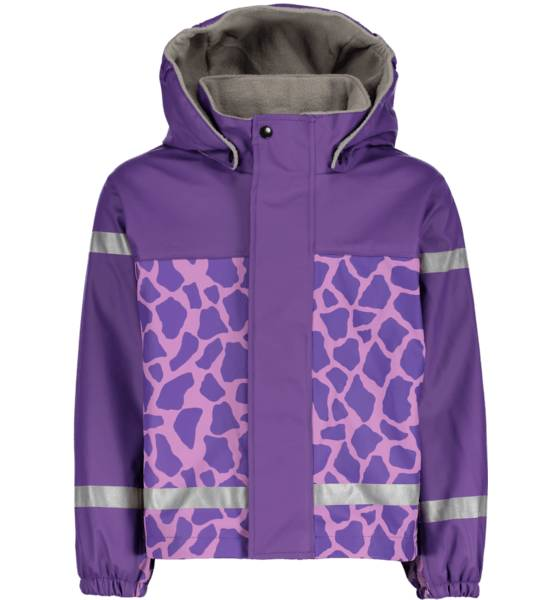 Image of Pax So Pu Lined Jkt Jr Sadevaatteet LILAC GIRAFF (Sizes: 74-80)