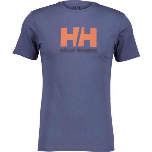 Helly Hansen So Logo Tee Ii M T-paidat VINTAGE INDIGO (Sizes: S)