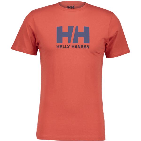 Image of Helly Hansen So Logo Tee Ii M T-paidat PAPRIKA (Sizes: S)