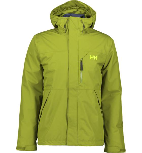 Helly Hansen So Squamish Jkt M Takit WOOD GREEN  - WOOD GREEN - Size: Small