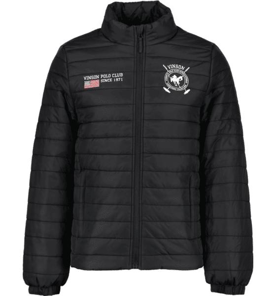 Vinson Polo Club So Figo Jkt M Takit JET BLACK (Sizes: L)