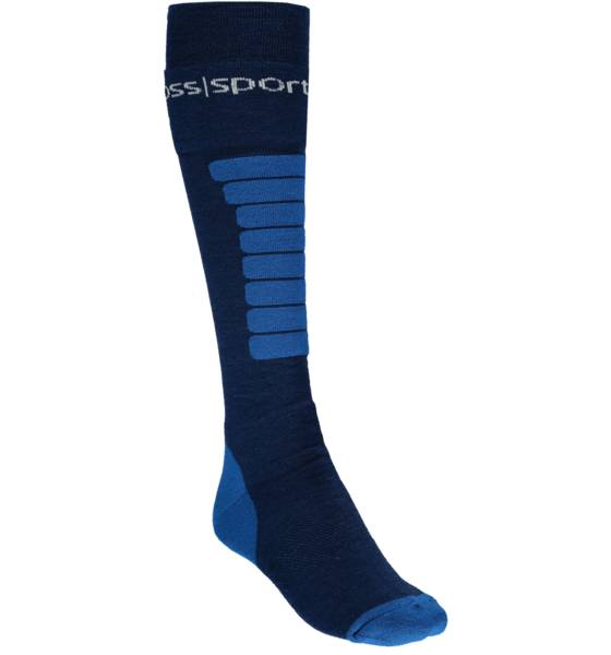 Cross Sportswear So Ski Sock 1p U Sukat BLUE (Sizes: 45-47)
