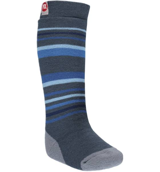 Image of Pax So Ski Sock Kid 1p Treeni BLUE (Sizes: 22-24)