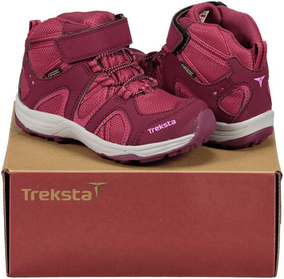 Image of Treksta So Sage Gtx Jr Varsikengät & saappaat RASPBERRY/GREY (Sizes: 34)