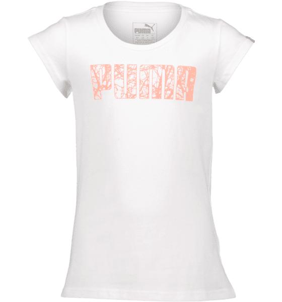 Puma So Graphic Tee G Jr T-paidat & topit WHITE  - WHITE - Size: 128