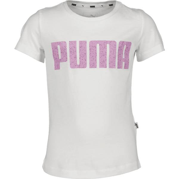 Puma So Graphic Tee G Jr T-paidat & topit WHITE/ORCHID (Sizes: 164)