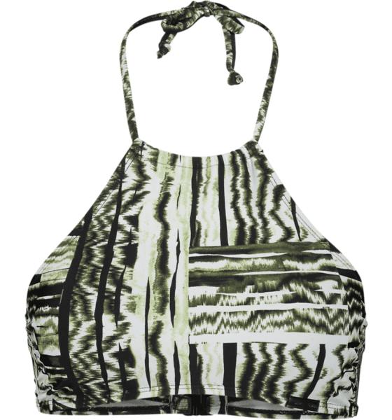 Image of Panos Emporio So Bralette Top W Bikinit & Uimapuvut GRAPHIC GREEN (Sizes: 38)