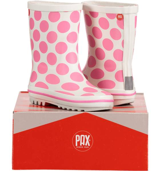 Image of Pax So Boll Jr Varsikengät & saappaat WHITE/PINK (Sizes: 24)