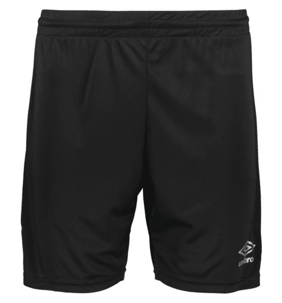 Umbro So Score Shorts U Shortsit BLACK  - BLACK - Size: Small