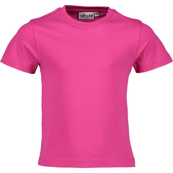 Tribute So Basic Tee Jr T-paidat & topit PINK (Sizes: 120)