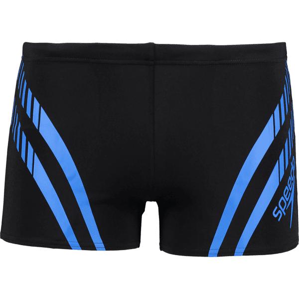 Speedo So Sport Panel S M Uima-asut BLACK/NEON BLUE (Sizes: XL)