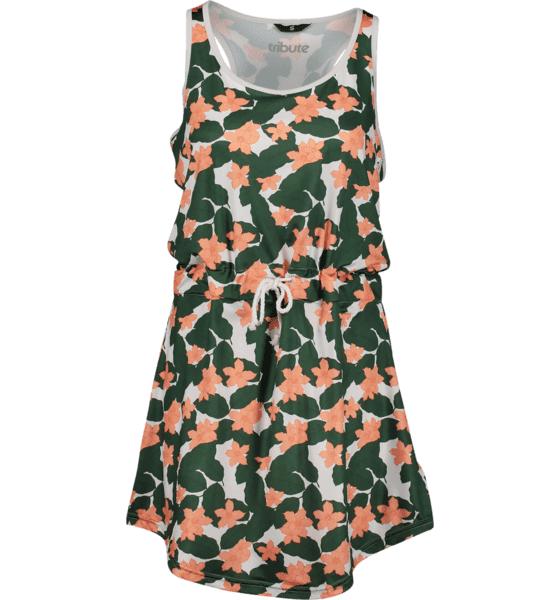 Tribute So Beach Dress W Mekot & hameet LEAF PRINT  - LEAF PRINT - Size: Small