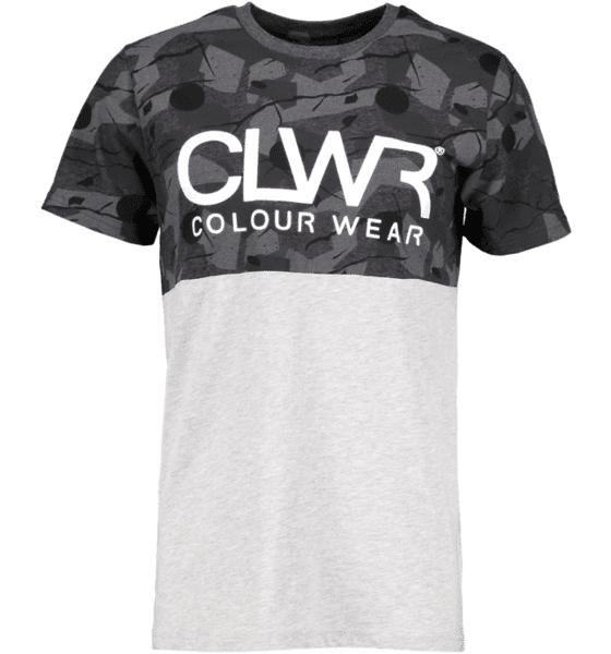 Colour Wear So Horizon Tee M T-paidat BLACK WOOD (Sizes: M)