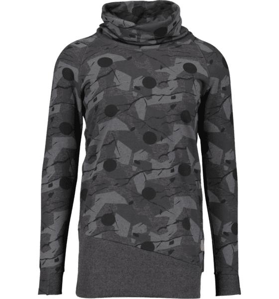 Colour Wear So Nest Hood M Yläosat BLACK WOOD DOT (Sizes: S)