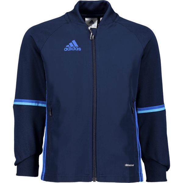 Image of Adidas So Con16 Tr Jkt Jr Treeni CONAVY/BLUE (Sizes: 164)