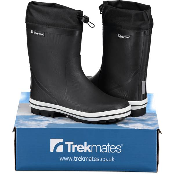 Image of Trekmates So Jump Rb Warm Jr Varsikengät & saappaat BLACK (Sizes: 30)