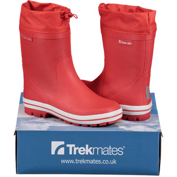 Image of Trekmates So Jump Rb Warm Jr Varsikengät & saappaat RED (Sizes: 28)