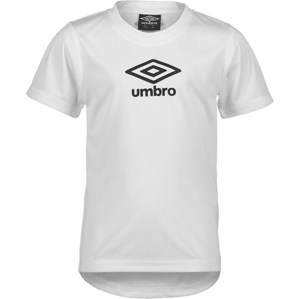 Image of Umbro So Score Tee Jr Treeni WHITE/BLACK (Sizes: 116)