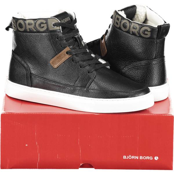 Image of Björn Borg So T270 High Fur U Varsikengät & saappaat BLACK/TAN (Sizes: 36)