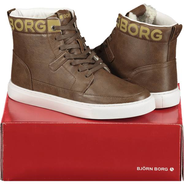 Image of Björn Borg So T270 High Fur U Varsikengät & saappaat TAN/LT TAN (Sizes: 36)