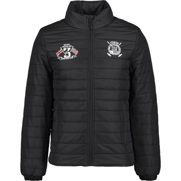 Vinson Polo Club So Jakob Jkt M Takit JET BLACK (Sizes: L)